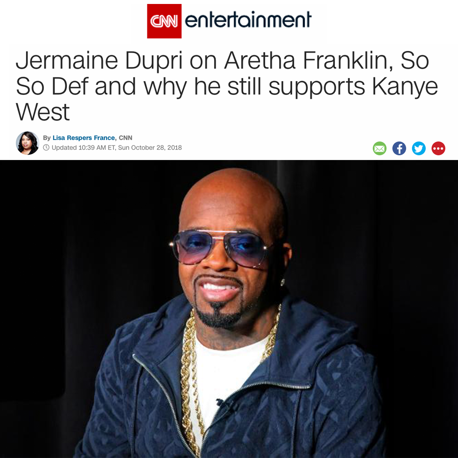Jermaine Dupri and So So Def on CNN